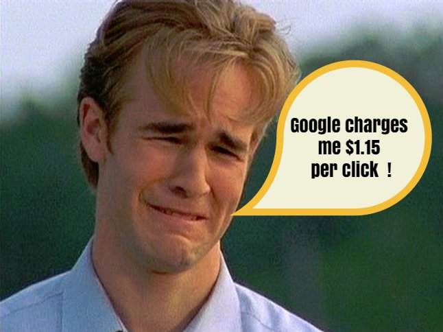 Is Adwords Expensive? The Whiny Builder Story