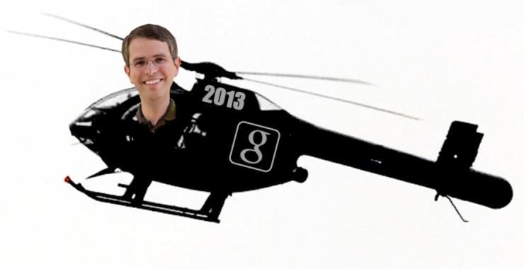 Matt Cutts Black Helicopter